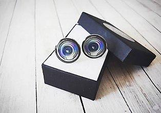 Šperky - Manžetové gombíky pre fotografa - 11411130_