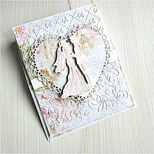 Papiernictvo - Svadobná pohľadnica - 11411120_