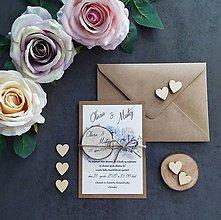 Papiernictvo - Svadobné oznámenie SPOLU - 11411207_