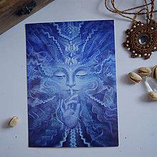 Obrazy - Vedomie (art print) - 11410374_