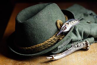 Doplnky - ozdoba za klobúk - 11409097_
