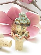 Pomôcky - zátka klaun - 11409876_