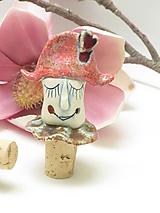 Pomôcky - zátka klaun - 11409878_