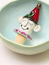 Pomôcky - zátka klaun - 11409882_