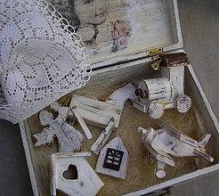 Dekorácie - retro vianoce - 11412094_