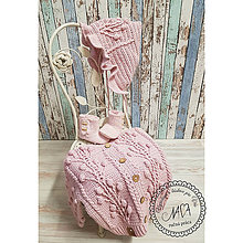 Detské oblečenie - Kolekcia ,,Púdrová vášeň ''svetrík - 11412513_