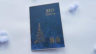 """Papiernictvo - Pozdrav - Christmas """"Darčeky pod stromčekom"""" - 11412322_"""