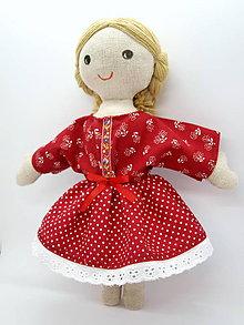 Bábiky - Katka - handrová folk bábika - 11413033_