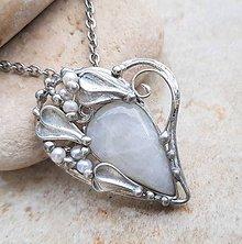 Náhrdelníky - DANIEL heart náhrdelník - 11412898_