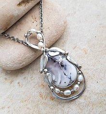 Náhrdelníky - BERNARD náhrdelník - 11412923_