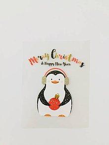 Galantéria - Mini tučniačik (nažehľovačka) - 11412252_