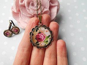 Sady šperkov - Jemné ruže - 11412286_
