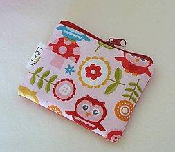 Detské tašky - Detská peňaženka, taštička (sovičková) - 11411882_
