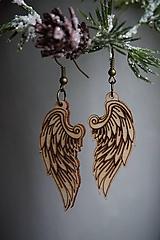 Náušnice - Anjelské krídla - náušnice - 11412648_