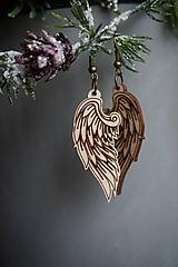 Náušnice - Anjelské krídla - náušnice - 11412649_