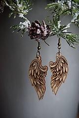Náušnice - Anjelské krídla - náušnice - 11412650_