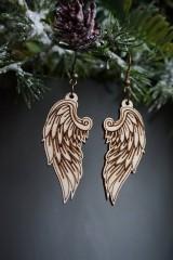 Náušnice - Anjelské krídla - náušnice - 11412655_