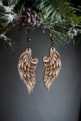 Náušnice - Anjelské krídla - náušnice - 11412656_