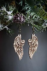 Náušnice - Anjelské krídla - náušnice - 11412657_