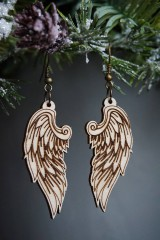 Náušnice - Anjelské krídla - náušnice - 11412663_