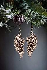 Náušnice - Anjelské krídla - náušnice - 11412664_