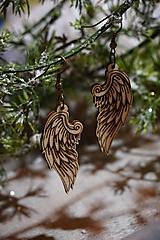 Náušnice - Anjelské krídla - náušnice - 11412665_