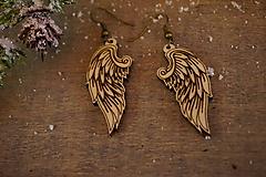 Náušnice - Anjelské krídla - náušnice - 11412679_
