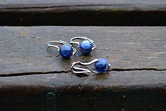 Sady šperkov - Sada Kyanit v rhodiovanom striebre - 11412012_