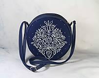 Kabelky - Tina folk modrotlač AM2 - 11411710_