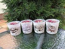 Svietidlá a sviečky - vonné sviečky v skle 2 - 11412695_