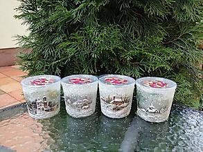 Svietidlá a sviečky - vonné sviečky v skle 1 - 11412686_