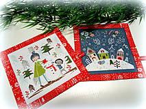 Úžitkový textil - Happy Holidays -  2 ks - 11414862_