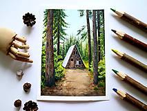 Kresby - Uprostred lesa  - 11415029_