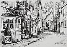 Obrazy - Kresba - moje milované mesto - na želanie - 11415521_