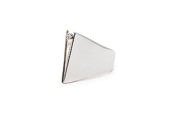 Prstene - Moderni stříbrný prsten Juniper - 11413500_