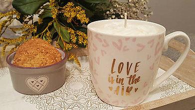 Dekorácie - Cappuccino dekoratívna sviečka - 11414165_