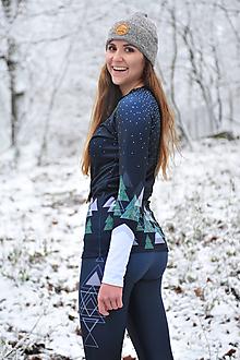 Iné oblečenie - Black snowy days - termo oblečenie - 11415068_