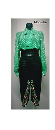 Sukne - Maľovaná sukňa - 11413438_