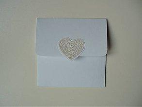 Papiernictvo - obal na CD/ snehobiely - 11416996_