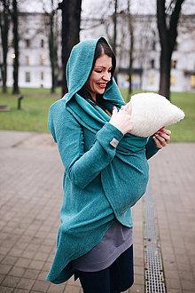 Svetre/Pulóvre - Nosičský sveter smaragdový (40/42) - 11417063_