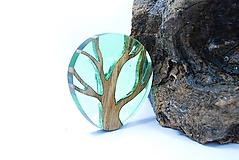 Drevená brošna- Strom života