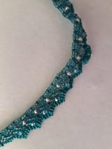 Sady šperkov - sada tyrkys - 11420039_