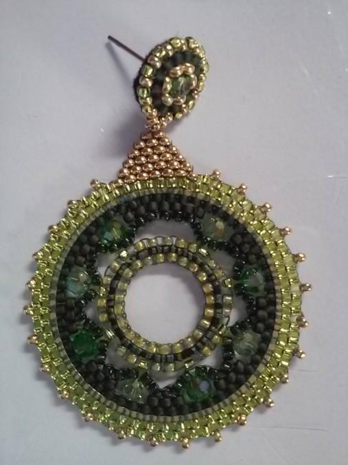 zelený kruh