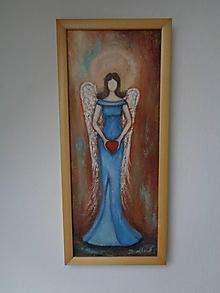 Obrazy - Anjel - posol lásky - 11418206_