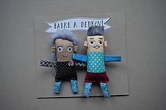 Magnetky - Babka a Dedko - 11419525_