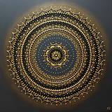 Obrazy - Mandala ÚSPECH A HOJNOSŤ 60 x 60 - 11418402_