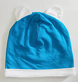 Detské čiapky - Bambusová čiapka - 11418932_