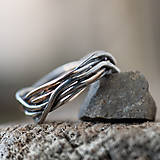 Prstene - Prepletené prúty - 11421403_