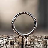 Prstene - Prepletené prúty - 11421404_