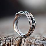 Prstene - Prepletené prúty - 11421406_